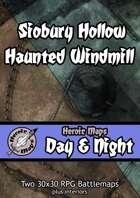 Heroic Maps - Day & Night: Siobury Hollow Haunted Windmill