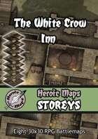 Heroic Maps - Storeys: The White Crow Inn