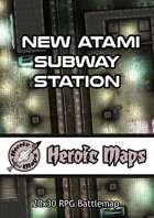 Heroic Maps - New Atami Subway Station