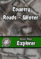 Heroic Maps - Explorer: Country Roads - Winter