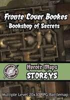 Heroic Maps - Storeys: Fronte Cover Books - Bookshop of Secrets