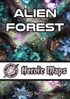 Heroic Maps - Alien Forest
