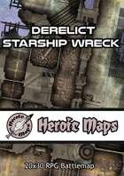 Heroic Maps - Derelict Starship Wreck