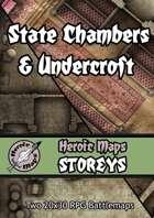 Heroic Maps - Storeys: State Chambers & Undercroft