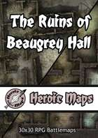 Heroic Maps - Day & Night: The Ruins of Beaugrey Hall