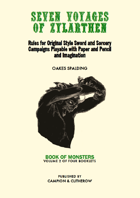 SEVEN VOYAGES of ZYLARTHEN Volume 2: Book of Monsters