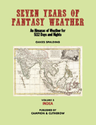 SEVEN YEARS OF FANTASY WEATHER Volume 3: Indea