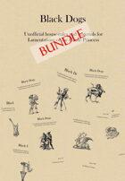 Black Dogs 'zine (1-8 bundle) [BUNDLE]