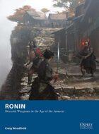 Ronin – Skirmish Wargames in the Age of the Samurai