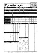 Warhammer Fantasy Roleplay First Edition - Character Sheet