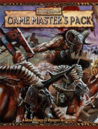 Warhammer Fantasy Roleplay 2nd Edition: Game Master's Pack