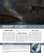 The Ghost Fleet - A Edge of Space Suppliment
