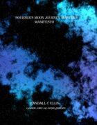 Sojourner's Moon Journey Master's Manifesto