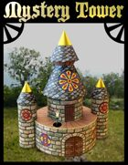 Mystery Tower Papercraft Model