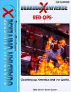 (G-Core) Guardian Universe X: Red Ops (Modern FASERIP)