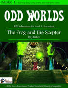 (Swords & Wizardry) The Frog and the Scepter