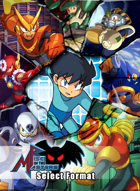 Select Format Characters - Rise of the Masters (Mega Man)