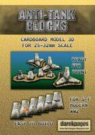 Anti-tank Blocks