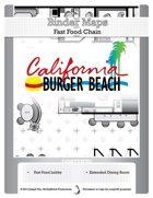 BinderMaps: California Burger Beach - Fast Food Fight and Light Dining