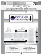 BinderMaps REMASTER: Purple Line - Underground Transit Station and Subway tunnels