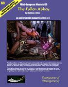 The Fallen Abbey- A Swords & Wizardry Mini-Dungeon