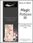 Buck-A-Batch: Magic Potions III