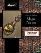 Buck-A-Batch: Magic Potions (4E)