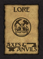 Axes and Anvils Lore Deck