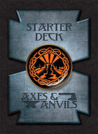 Axes and Anvils Starter Deck