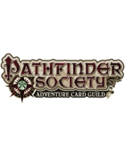 Pathfinder Adventure Card Guild Season of the Shackles Complete Set