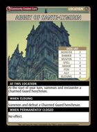 Abbey Of Sante-lymirin - Custom Card