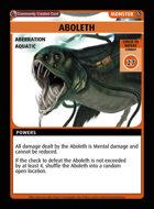 Aboleth - Custom Card