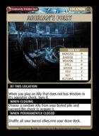 Aberian's Folly - Custom Card