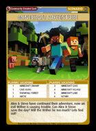 Minecraft Adventure - Custom Card