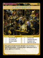 A Brief Respite - Custom Card