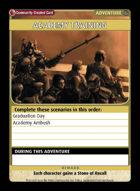 Academy Training - Custom Card