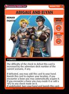 Abigale And Elyan - Custom Card