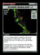 Illidari Warglaive +1 - Custom Card