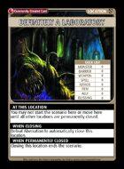 Definitely A Laboratory - Custom Card