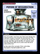 Potion Of Ressurection - Custom Card