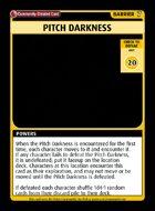 Pitch Darkness - Custom Card