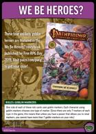 Pathfinder Adventure Card Game We Be Heroes? Set