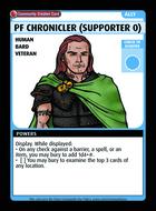 Pf Chronicler (supporter 0) - Custom Card