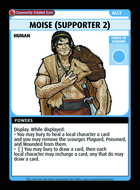 Moise (supporter 2) - Custom Card