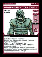 Graveknight (story Bane 1) - Custom Card