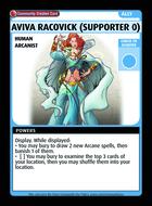 Aviva Racovick (supporter 0) - Custom Card