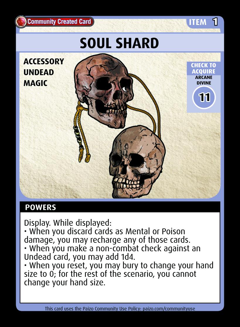 Soul Shard - Custom Card