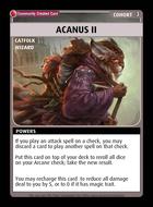 Acanus Ii - Custom Card