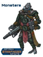 Alien Monsters Art Pack (Starfinder Infinite)