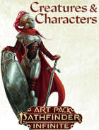 Creatures and Characters Art Pack (Pathfinder Infinite)